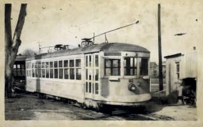 Sacramentio City Lines #92 - Sacramento, California CA Postcard