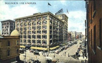 Bullock's Department Store - Los Angeles, California CA Postcard