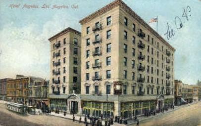 Hotel Angelus - Los Angeles, California CA Postcard