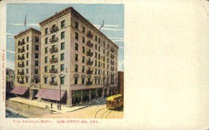The Angelus Hotel  - Los Angeles, California CA Postcard