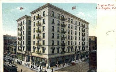 Angelus Hotel - Los Angeles, California CA Postcard