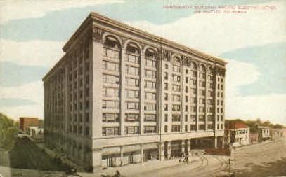 Huntington Building - Los Angeles, California CA Postcard
