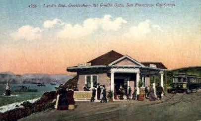 Land's End - San Francisco, California CA Postcard