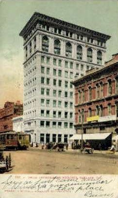 Union Savings Bank Building - Oakland, California CA Postcard