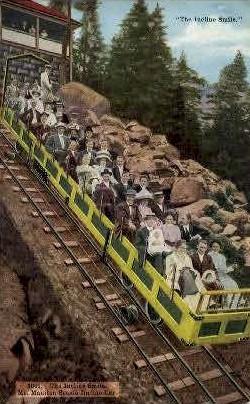 Incline - Mt. Manitou, California CA Postcard