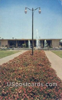 Stockton Civic Center - California CA Postcard