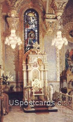 Saint Sophia Greek Orthodox Cathedral - Los Angeles, California CA Postcard