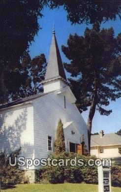 Chapel Army Language School Presidio - Monterey, California CA Postcard
