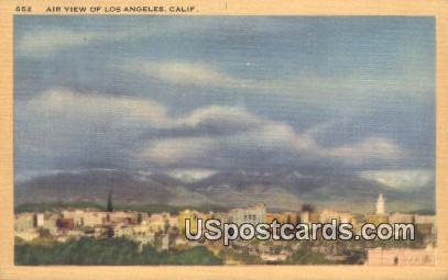 Los Angeles, CA Postcard       ;       Los Angeles, California