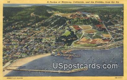 Presidio - Monterey, California CA Postcard