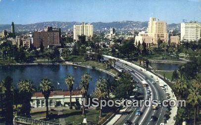 General Douglas Mac Arthur Park - Los Angeles, California CA Postcard