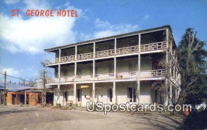St George Hotel - Volcano, California CA Postcard