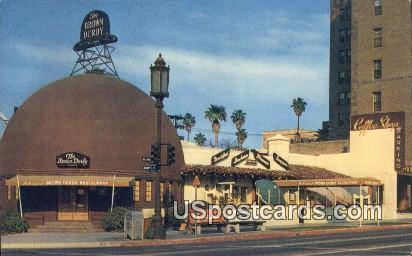 Brown Derby Restaurant - Los Angeles, California CA Postcard