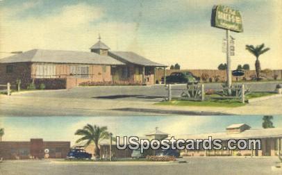 El Noh Ranch-o-Tel - El Centro, California CA Postcard