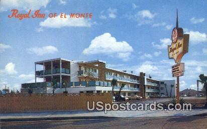 Royal Inn - El Monte, California CA Postcard