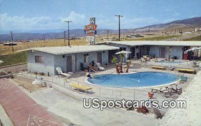 Kismet Lodge - Desert Hot Springs, California CA Postcard