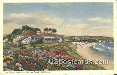 Victor Hugo Inn - Laguna Beach, California CA Postcard