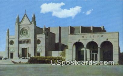 Hall of the Crucifixion & Museum - Glendale, California CA Postcard