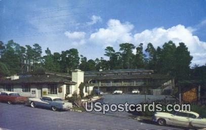 Village Inn - Carmel by the Sea, California CA Postcard
