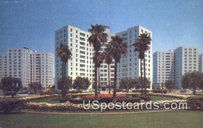 Park Labrea Towers - Los Angeles, California CA Postcard