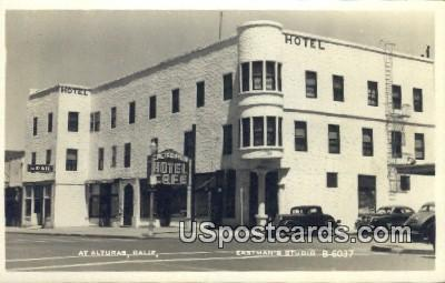 Real Photo - Eastman's Studio - Alturas, California CA Postcard