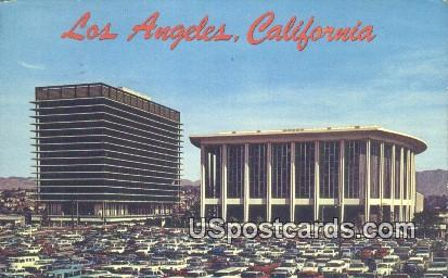 Los Angeles Music Center - California CA Postcard