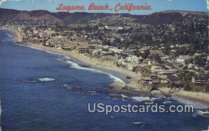 Laguna Beach, California, Postcard       ;       Laguna Beach, CA