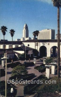 Union Station Passenger Terminal - Los Angeles, California CA Postcard