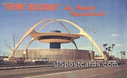 Los Angeles International Airport - California CA Postcard