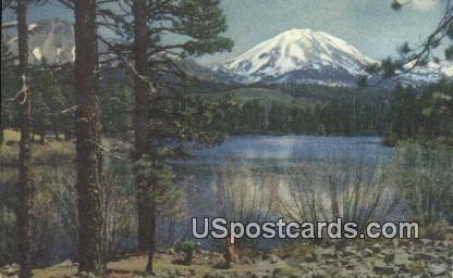 Impressive Lassen Peak, California, Postcard       ;       Impressive Lassen Peak, CA