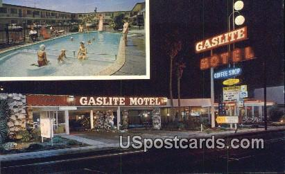 Gaslite Motel - Buena Park, California CA Postcard