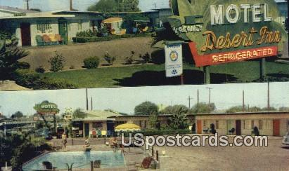 Desert Inn Motel - El Centro, California CA Postcard