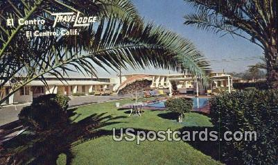 El Centro Travelodge - California CA Postcard