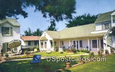 Wayside Inn - Carmel by the Sea, California CA Postcard