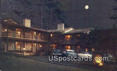 Colonial Terrace Inn - Carmel by the Sea, California CA Postcard