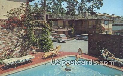 Carmel Studio Lodge - Carmel by the Sea, California CA Postcard