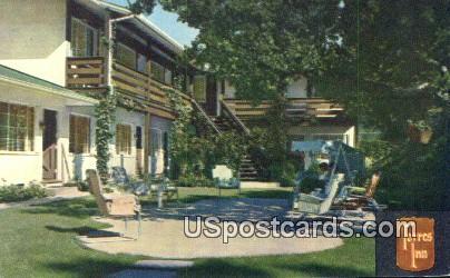 Torres Inn - Carmel by the Sea, California CA Postcard