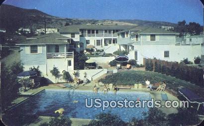 La Playa Motor Hotel - Laguna Beach, California CA Postcard