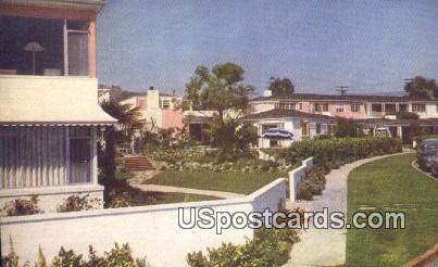 Laguna Shores - Laguna Beach, California CA Postcard