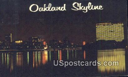 Oakland, CA Postcard       ;       Oakland, California
