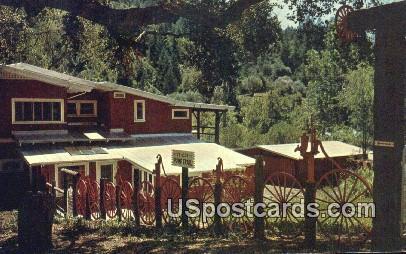 Old Pump Trail - Santa Rosa, California CA Postcard