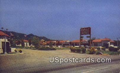 El Portal Motel - Santa Rosa, California CA Postcard