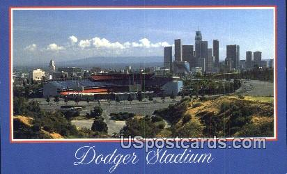 Dodger Stadium - Los Angeles, California CA Postcard