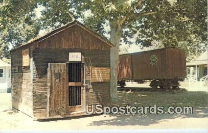 Kern County Museum's Pioneer Village - Bakersfield, California CA Postcard