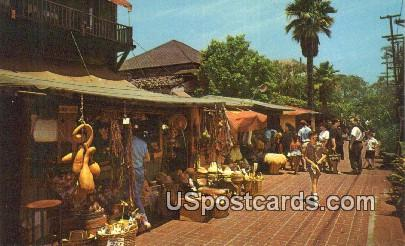 Olvera Street - Los Angeles, California CA Postcard