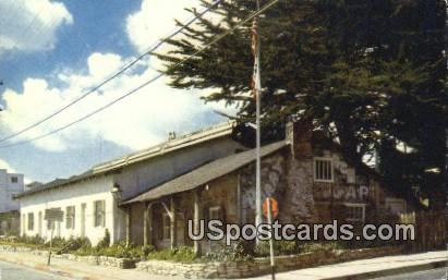 California's First Theater - Monterey Postcard