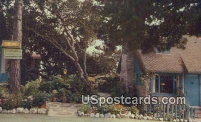 Famed Art & Cultural Community - Carmel by the Sea, California CA Postcard