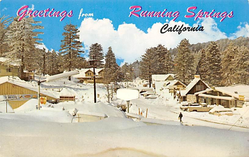 Running Springs CA
