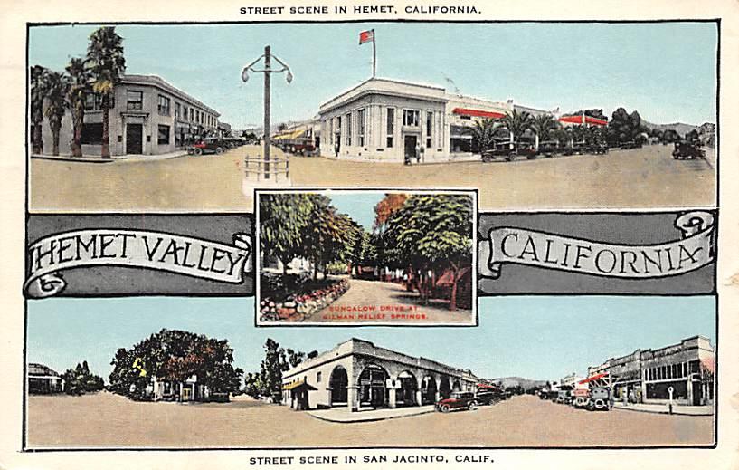 Hemet & San Jacinto CA