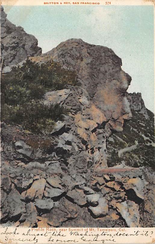 Summit of Mt. Tamalpais CA